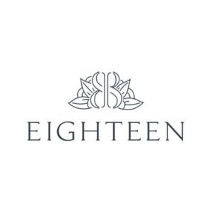 Eighteen logo