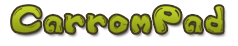 Carrom Pad logo